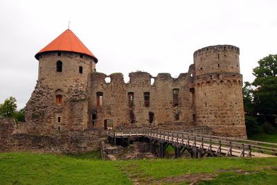 Ruine Ordensburg Cesis