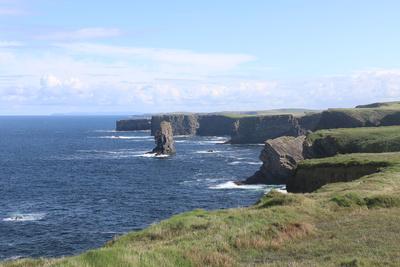 Cliffs am Foohagh Point (Irland)