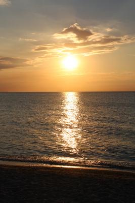 Sonnenuntergang über der Ostsee2