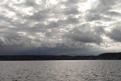 Wolken über dem Überlinger See