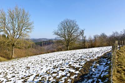 Im Oberbergischen ist noch Winter