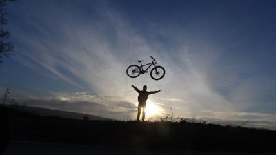 Fahrradflug