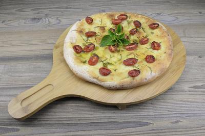 Focaccia, italienische Spezialität, ähnlich der Pizza