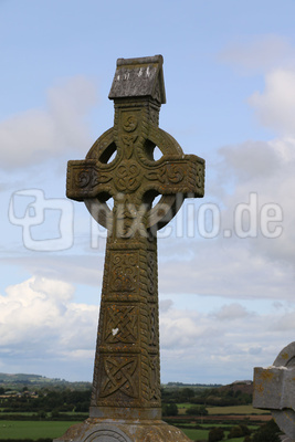 Keltenkreuz beim Rock of Cashel (Irland)