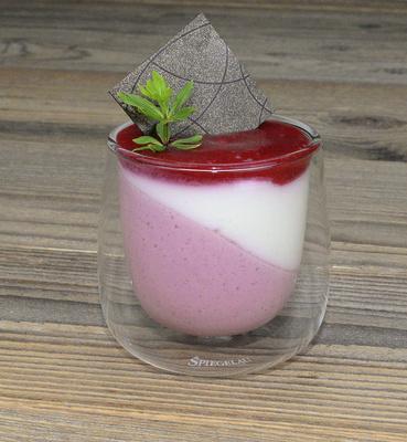 Himbeer-Joghurt-Creme