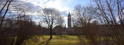 Schlossgarten mit Neideckturm