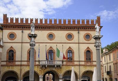 Ravenna, Rathaus, Emilia Romagna, Italien