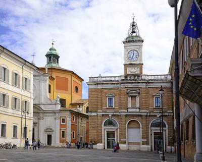 Ravenna, Piazza del Popolo, Emilia Romagna, Italien