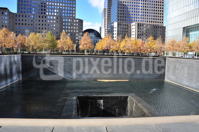 9/11 Memorial - World Trade Center - 11. September