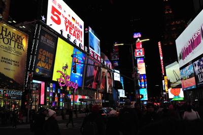 Time Square @Night Manhattan New York City