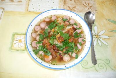 Würstelsuppe