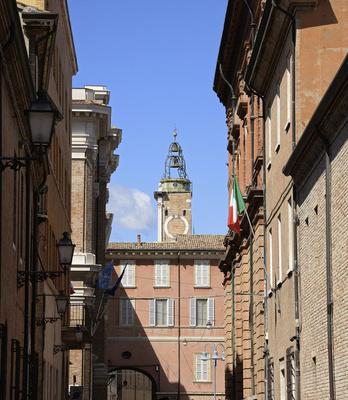 Ravenna, Emilia Romagna, historisches Stadtzentrum