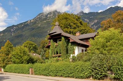 Garmisch - Verstecktes Altstadthaus