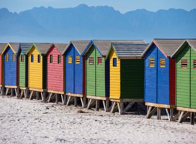 Muizenberg- Strandhäuser