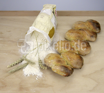 Pain D'Épi, Brot, französisches Weißbrot