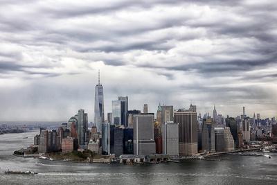 Wolken über Manhattan