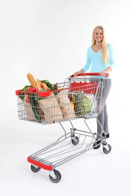 Nach dem Einkauf