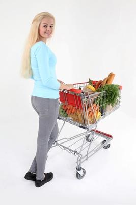 Nur gesunde Sachen gekauft