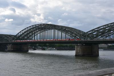hohenzollernbrücke mal ohne dom