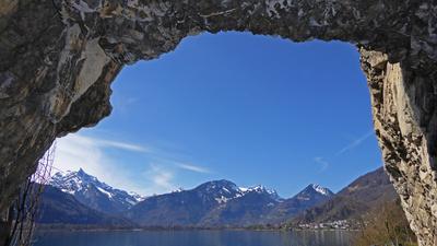 Ausblick zu den Glarner Alpen