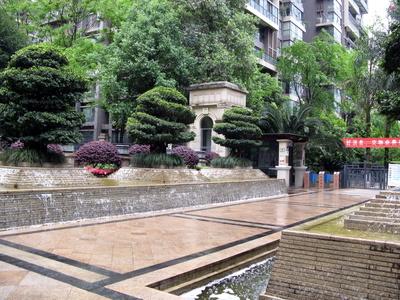 Hochhauskomplex der Mittelschicht von Chengdu