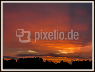 Sonnenuntergang im Peiner Land