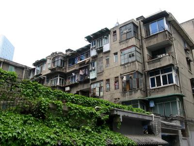 Wohnhausblock in Chengdu