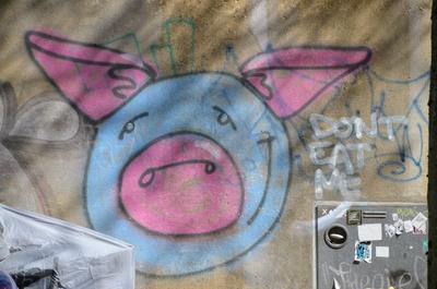 Gegen Schweinefleisch-Verzehr