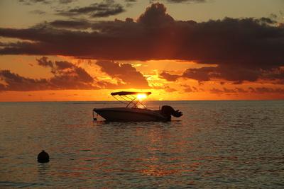 Mauritius am Ende des Tages