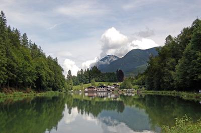 Riessersee bei Garmisch-Partenkirchen