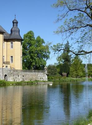 Partie am Schloss