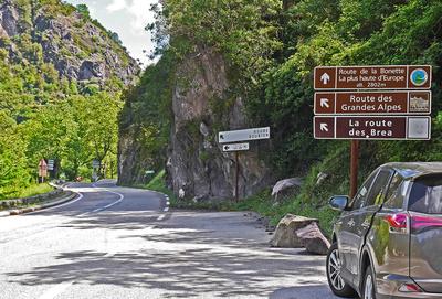 Tourismusstraßen in den Seealpen