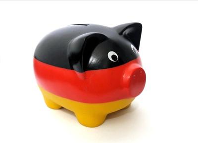 deutsches Glücksschwein