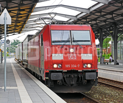 Bahnhofsdurchfahrt in Rendsburg