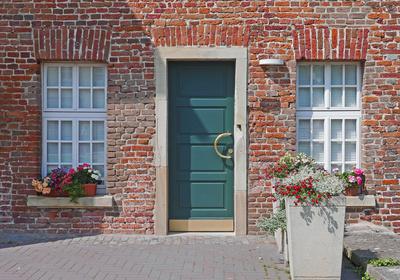 Altes Haus - neuer Eingang