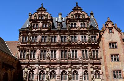 Heidelberger Schloss - Friedrichsbau