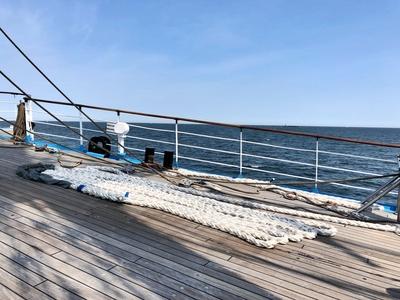 Rehling - Mir,  Segelschulschiff Mir im Sommer 2018