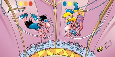 Humorus Pokus Fidibus: Zirkusartisten