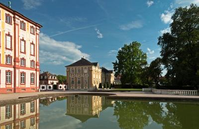 Teilansicht Schloss Bruchsal