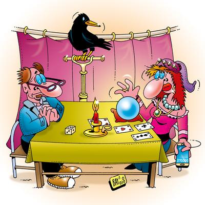 Humorus Pokus Fidibus: Die Wahrsagerin