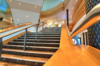 Cardiff - Wales Millennium Center - innen