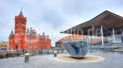 Das Ensemble - Pierhead - Millennium Center - Senned