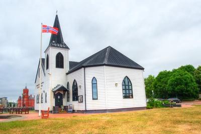 Cardiff - Norwegische Kirche