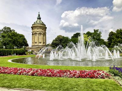Mannheim Wasserturm 1