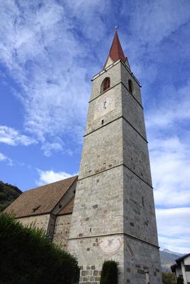 Lana. Pfarrkirche Maria Himmelfahrt.