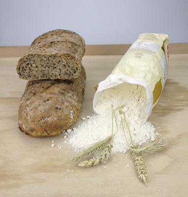 Leinsamenbrot, Brot, Schwarzbrot