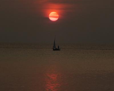 Sunset Summer Island Maledieven
