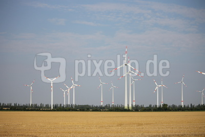 Windkrafträder Brandenburg