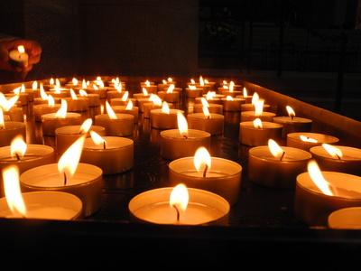 Licht zum Gedenken