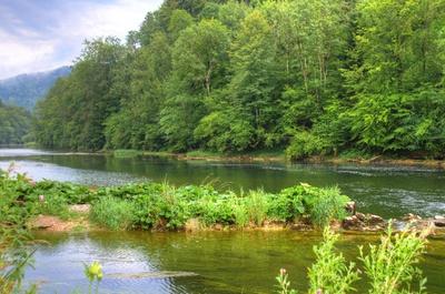 Le Doubs bei der Moulin du Plain
